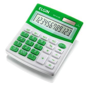 Calculadora--MV-4126-Verde---ELGIN