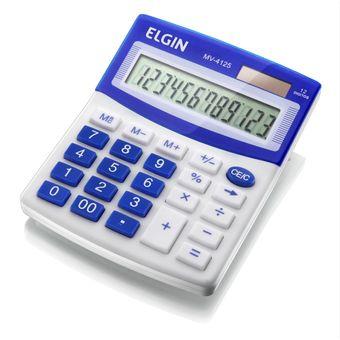 Calculadora-de-Mesa-de-12-Digitos-MV-4125-Azul---Elgin