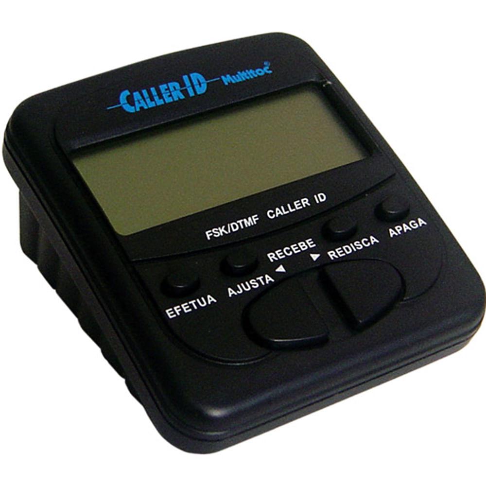 Identificador de Chamadas Preto - Multitoc