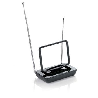 Antena-Interna-Passiva-Nao-Amplificada-Preta-VHF-UHF-Digital-e-Radio-FM-SV9015---One-For-All