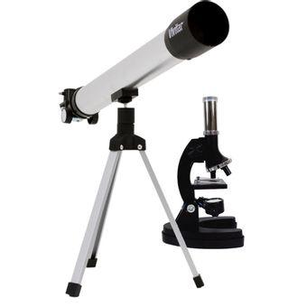 Kit-Infantil-Telescopio-de-Refracao-60x-120x-e-Microscopio-300x-600x-1200x-VIVTELMIC20---Vivitar