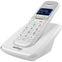 Telefone-sem-Fio-DECT-6.0-Identificador-de-Chamadas-Viva-Voz-Branco-TS-63V---Intelbras