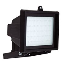 Refletor-de-45-LEDs-Luz-Branca-Halogenea-Bivolt-Preto-6046---DNI