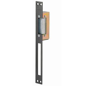 Fecho-Eletromagnetico-para-Batente-Estreito-em-Aluminio-FE12---Amelco