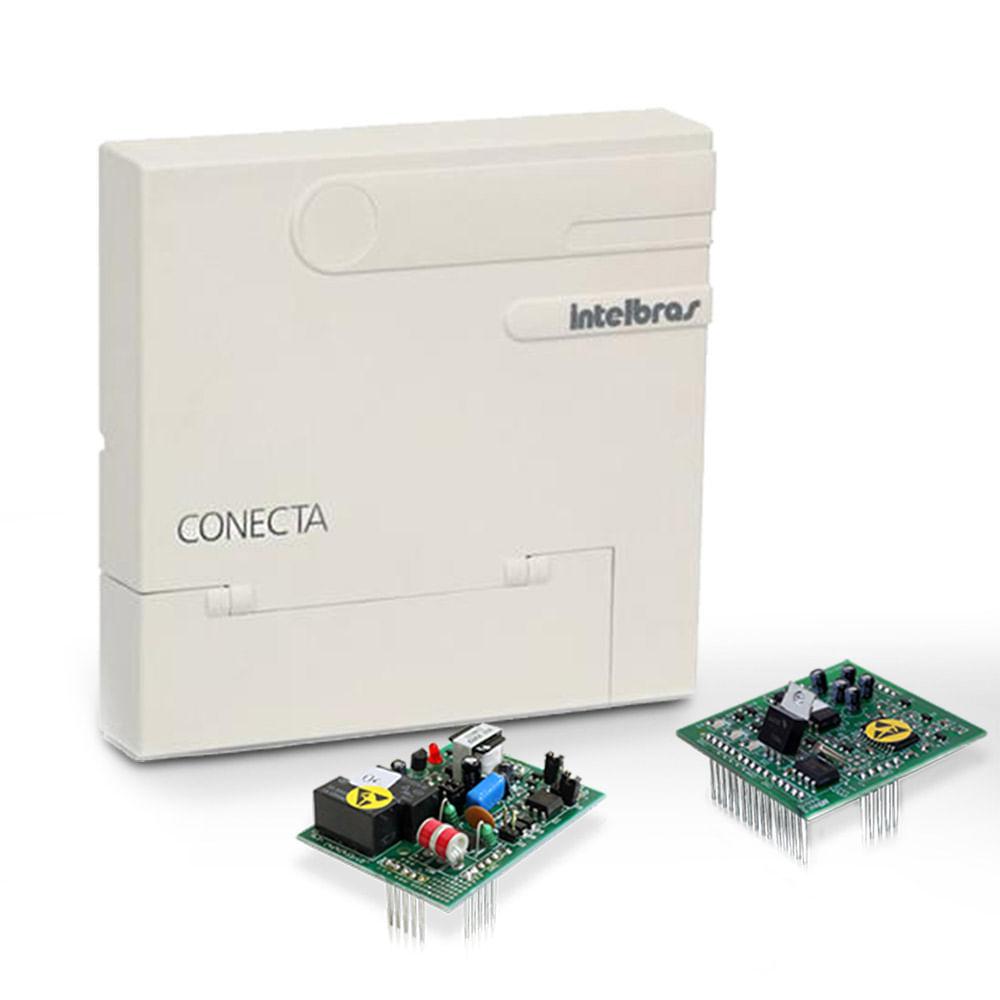 Central PABX Conecta 2x8 + Placas IDA e Comunicação - Intelbras