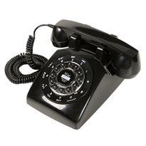 Telefone-com-Fio-Retro-London-com-Rediscagem-Preto-32389---Classic