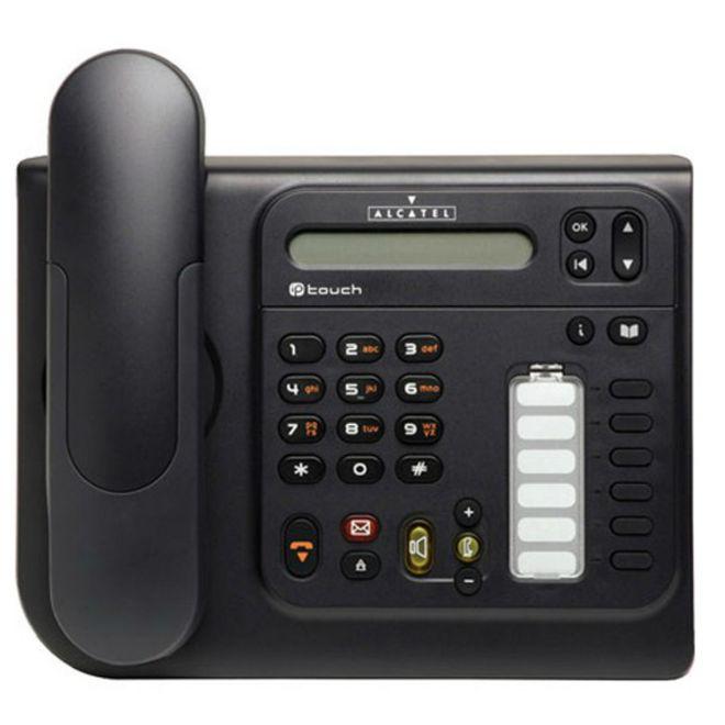 Telefone Com Fio Alcatel Ip Lucent 4018 Sem Id Preto