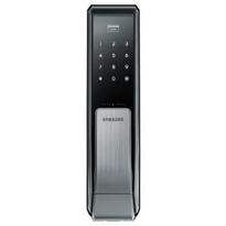 Fechadura-Digital-Puxe---Empurre-SHS-P717-Toque-Cartao-RFID-e-Chave---SAMSUNG