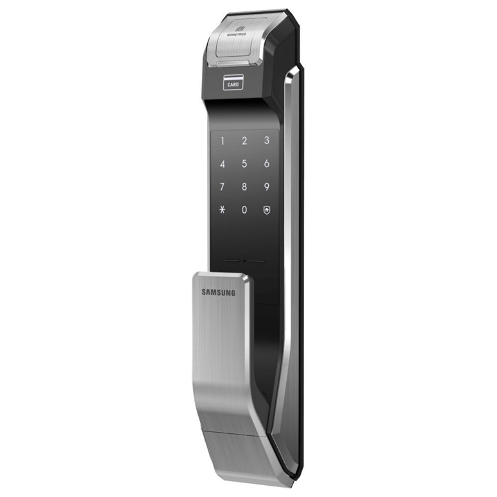 Fechadura Digital Biom 233 Trica Push Full Shs P718 Samsung