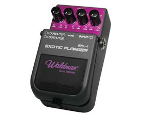 Pedal-de-Efeito-Exotic-Flanger-EFL-1-Controles-Manual-Res-Rate-Depth---WALDMAN
