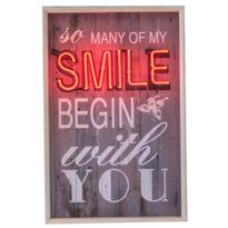 Quadro-Decorativo-Neon-So-Many-Of-My-Smile-Begin-With-You