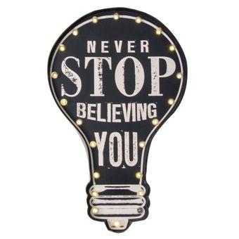 Quadro-Decorativo-Luminoso-Never-Stop-Believing-You