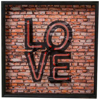 Quadro-Decorativo-Neon-Love