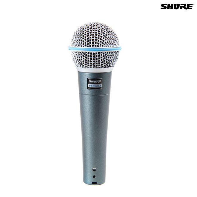 Microfone Dinâmico de Mão Beta58a Shure