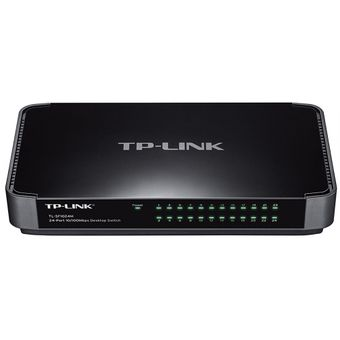 Switch-Fast-Ethernet-24-Portas-10-100mbps-TL-SF1024M-TP-Link