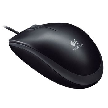 Mouse-Optico-USB-M100---Logitech