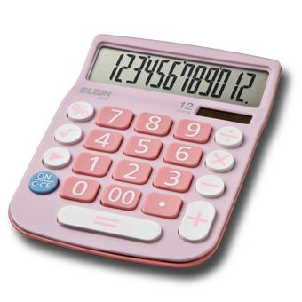 Calculadora-de-12-digitos-Rosa-MV-4130---Elgin
