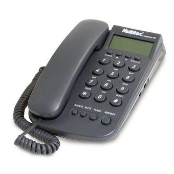 Telefone com Fio Company ID Multitoc