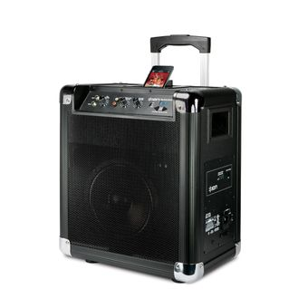 Caixa-Acustica-Portatil-Sem-Fio-com-Radio-AM-FM-Dock-para-iPod-e-iPhone-Block-Rocker---Ion