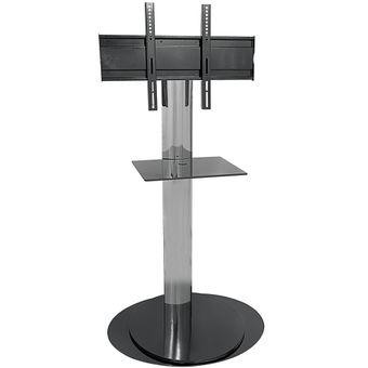 Rack-Audience-C135-TI-Glass-Preto---Aironflex