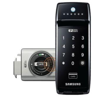 Fechadura-Digital-Sensor-de-Presenca-Senha-Garra-Dupla-RFID-Ezon-Shark-SHS-2320---Samsung