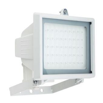 Refletor-de-45-LEDs-Luz-Branca-Halogenea-Bivolt-Branco-6047---DNI