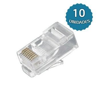 Kit-com-10-Plugs-Modulares-de-Rede-RJ-45-8x8-Macho---Multitoc