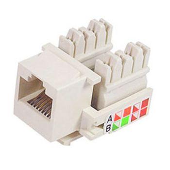 Conector-Modular-Keystone-Femea-RJ-11-Bege-8x4-M02A---Multitoc-