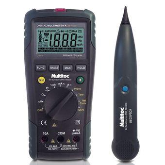 Kit-Multimetro-Digital-Pro-com-Display-Iluminado-TX-3000---Multitoc