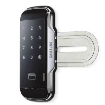Fechadura-Digital-para-Porta-de-Vidro-SHS-G517-Toque-e-Cartao-RFID---SAMSUNG