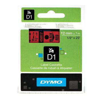 Fita-de-Poliester-Auto-Adesiva-45017-12mm-Preto-Vermelho---DYMO