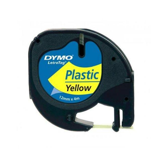 Fita-de-Poliester-Auto-Adesiva-91334-12mm-Preto-Verde---DYMO