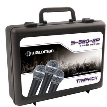 Kit-S-580-3P-com-3-Microfones-Vocais-Classicos-Cardioide-Case-Cachimbos---WALDMAN
