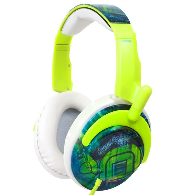 Fone de Ouvido Headphone Ruk Over-ear Verde Koss 50g