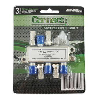 Kit-Connect-Pro-Divisor-de-Antena-0390011-3-saidas---CONNECT-PRO