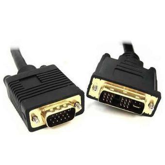 CABO DVI A M 12+5 X VGA DB15 M - WB 020058