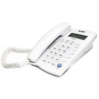 Telefone-Elgin-TCF-3000-com-Identificador-de-Chamadas-e-Viva-Voz-Cinza