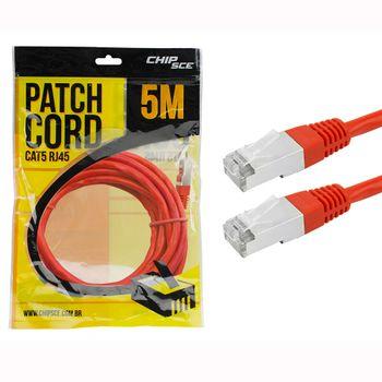 Cabo-Patch-Cord-CAT5E-FTP-5M-018-9911-Vermelho---Chip-Sce