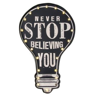 Quadro-Decorativo-Luminoso-Never-Stop-Believing-You