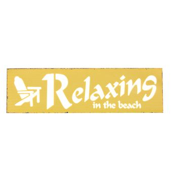 Quadro-Decorativo-Luminoso-Relaxing-In-The-Beach