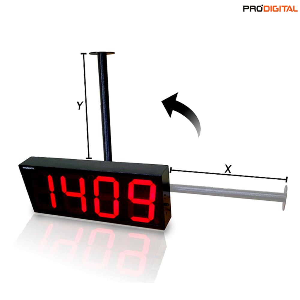 Suporte Para Relógio de Parede Tamanho Pequeno SUP-P-30 – Pró-Digital -  Eletronica Santana