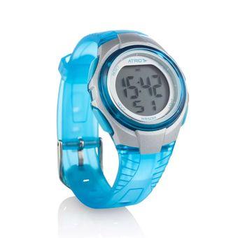 0f3c1910da8 Relógio Feminino Cooper Cinza Azul ES095 Atrio