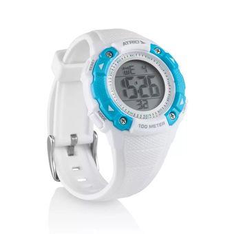 b85cb62ba22 Relógio Feminino Iridium Branco Azul ES098 Atrio