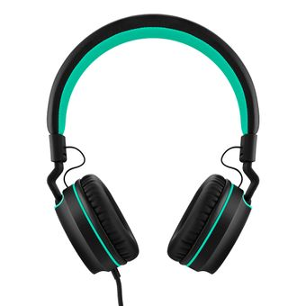 Headphone-Com-Fio-P2-Preto-e-Verde-Fun-PH159-Multilaser-Pulse