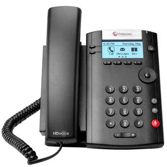 Telefone-IP-VVX201-220-40450-025-Polycom