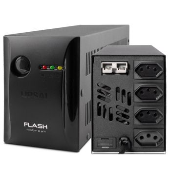 Nobreak-Flash--Mini-600VA-Bivolt-04-Tomadas-E115-230v-s115v-51070626---UPSAI-3