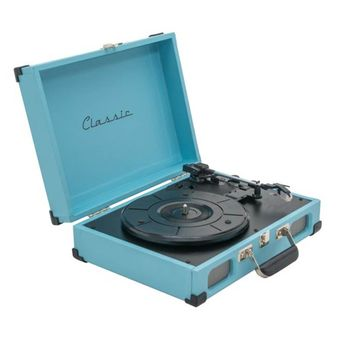 91ea4ca47ab Toca-Discos Vinil Retrô Tennessee Azul 40.262 Classic