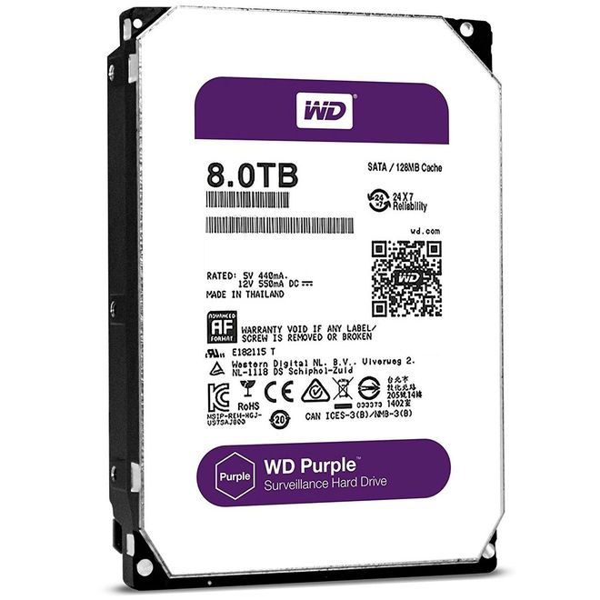 Hd Interno 8tb Western Digital Wd80purz