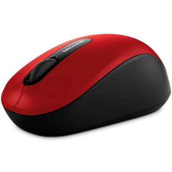 mouse-sem-fio-microsoft-vermelho