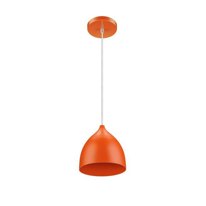 luminaria-led-pendente-laranja